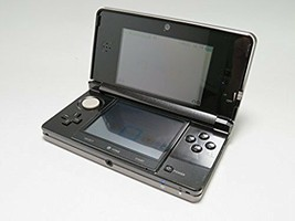 Nintendo 3DS Console System Cosmo Black Console Only From Japan Used - $99.98