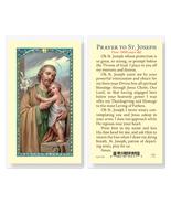 St. Joseph Laminated Prayer Holy Card 25-Pack - $24.99