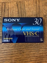 Sony VHS-C 30 Minute Vhs Cassette - $27.60