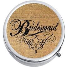 Bridesmaid Medicine Vitamin Compact Pill Box - $9.78