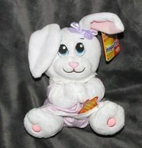 Nuby Prayer Pal Doll Baby Bunny Rabbit Recites Bedtime Pray Precious Mom... - $20.68