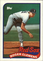 1989 Topps Baseball Base Singles #250-499 (Pick Your Cards) #450 Roger Clemens  - $2.95