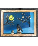 Pebble Painting, Pebble Art, Wall Painting, Wall Art, Love Painting, Gift - $39.50