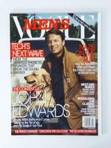 John Edwards Autographed Sighed Men's Vogue Magazine July/Aug 2007 - $74.24