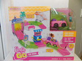 Barbie on the Go Motorized Car Wash  - $40.00