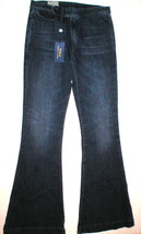 New Womens Ralph Lauren Polo Jeans $198 Flare Tall 30 Tailored Look Dark... - $79.20