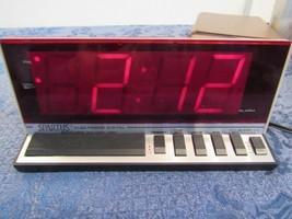 Vintage Spartus Large Jumbo Display Electronic Digital Alarm Clock Model 1150 - $14.86