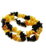 "Genuine 'Bumble Bee' Baltic Amber Teething Necklace 13"" - 20"" Baby Toddl... - $19.50+"