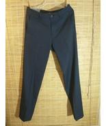 Haggar H26 Men's Performance Dress Pants Straight Trousers 32 x 34 Navy ... - $21.51