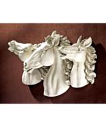 Stallion Stampede Wild Horse Wall Sculpture - $149.98