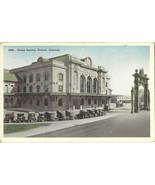 Union Station Old Cars Denver Colorado  Postcard - $2.34
