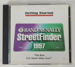 Rand McNally StreetFinder Installation PC CD-ROM 1997 - $12.19