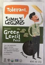 Tolerant Organic Green Lentil Pasta Penne  8 oz  - $9.95