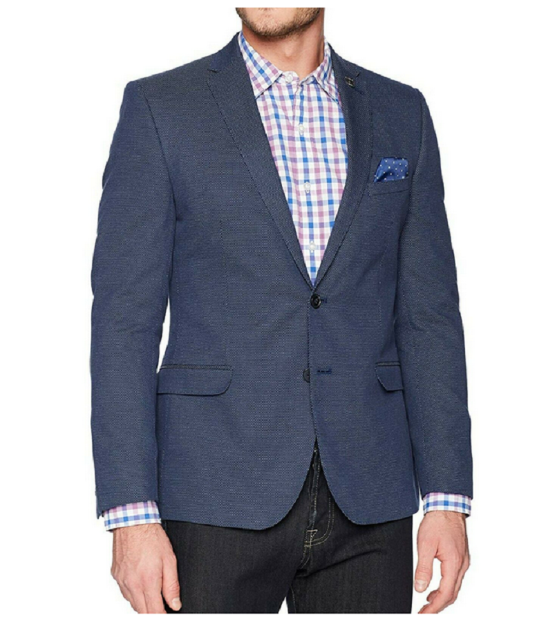 Primary image for Nick Graham New York Cut Blazer, 38R, 420 Blue