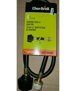 Char-Broil Universal 4ft Propane Hose & Adapter 4633 - $12.87