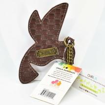 Chala Handbags Faux Leather Whimsical Hummingbird Charm Key Chain Keychain image 2