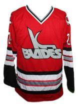 Kansas city blades retro hockey jersey red   1 thumb200