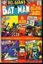 BATMAN #187-1967-DC-JOKER-80 PAGE GIANT-very good VG - $31.53