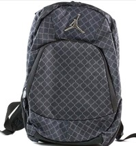 8b46a9b5dcb S l1600 thumb200 NIKE JORDAN JUMPMAN BACKPACK BLACK SILVER LAPTOP ...