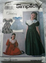 Simplicity Heirloom Girl's Dress & Transfer Size 7-10 #8145 Uncut - $6.99