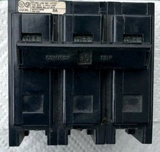 Westinghouse 3 Pole 90 Amp Bolt-in Breaker,BAB3090H, Working Cond. - $82.08