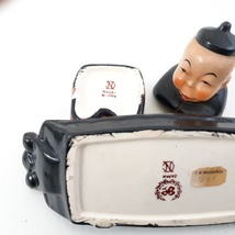 Vintage Butter Dish and Salt with small spoon Lenwile and Ardalt Japan 40's image 4