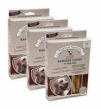 Tartar Shield Soft Rawhide Chews Large Dogs 8 Count - Clinically Proven ... - $60.51