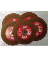 """Vermont American 28049 7"""" Metal Cut-Off Wheels With Red Ceramic AO 5 Pack - $6.93"""