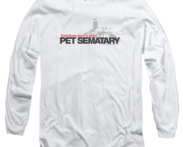 Stephen Kings Pet Sematary Retro 80's Horror long sleeve graphic t-shirt PAR293 image 2