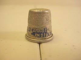 Real Silk Hosiery Mills Indianapolis Indiana 1920s Advertising Aluminum ... - $6.99