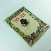 Pom Pom The Fuzzy Dog 1947 Childrens Vintage Book Virginia Cunningham Wh... - $29.99
