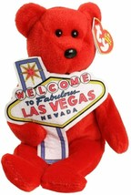 Ty Beanie Baby Aces Las Vegas Bear 2006  NEW - $11.87