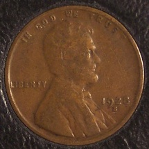 1928-S Lincoln Wheat Back Penny Fine #0151 - $1.99