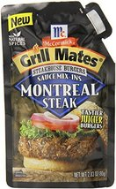 McCormick Grill Mates Montreal Steak, 2.83 oz (Case of 6) - $22.24