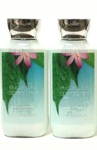 BATH & BODY WORKS EUCALYPTUS SPEARMINT LOTION 8 OZ  LOT OF 2 FULL SIZE B... - $14.36