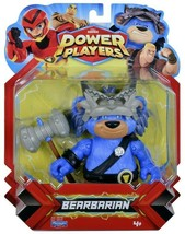 Zag Heroez Power Players Bearbarian Action Figure Playmates Toys - $15.85