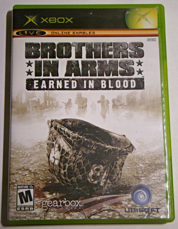 XBOX - BROTHERS IN ARMS - EARNED IN BLOOD (Complete with Manual)