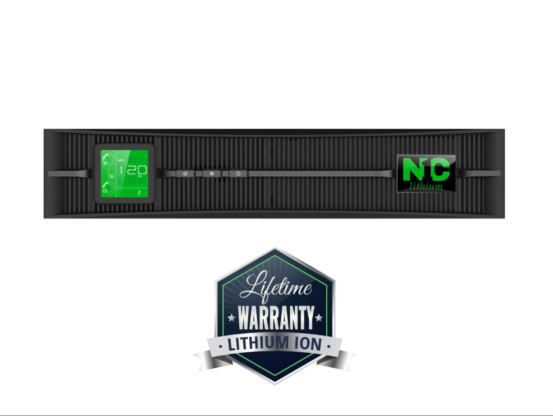 N1C.L2000 Lithium-Ion Uninterruptible Power Supply (UPS), 2kVA (2000VA), 120V