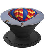 Beautiful Hot Air Balloon Picture Abq NM - PopSockets Grip and Stand for... - $15.00