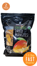 Kirkland Organic Dried Mango 2.5 LB 2 PACK - $49.98