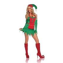 Holiday Helper Costume Medium Dress Size 6 to 10 - $30.37