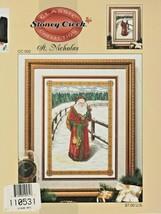 "Leisure Arts - Stoney Creek ""St. Nicholas"" Cross-Stitch - Gently Used - $8.00"