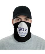 Black NYC Subway parody Tube Bandanna Neck Gaiter face mask and neck warmer - $21.95