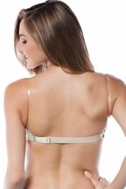 Ilys 6 Pack Strapless Push Up Bra Clear Back Strap Basic Colors 1841 image 5