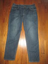 Chico's Platinum Size 1.5 (10) Dark Rinse Crop Leg Denim Ankle Jeans - $32.55