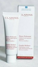 Clarins Gentle Refiner Exfoliating Cream Natural Microbeads 1.7oz - New! - $18.80