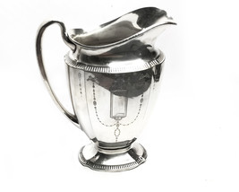 Vintage Art Deco 1920's Oneida water pitcher by Community Silver Plate - $109.00