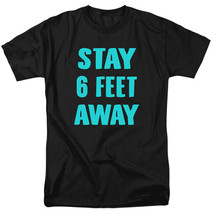 2020 Virus Outbreak Social Distance Stay 6 Feet Away Adult T Shirt  - $22.67+