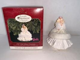 Hallmark Keepsake Ornament Collectors Club Barbie Club Edition #2 In Ser... - $7.50
