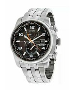 CITIZEN ECO-DRIVE AT9010-52E SILVER STAINLESS STEEL BLACK DIAL MEN'S WATCH - $315.80